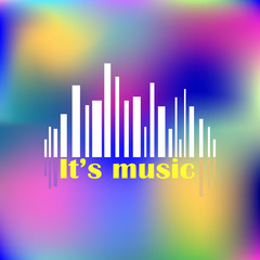 Abstact  music