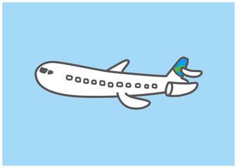 Cute airplane illustrations