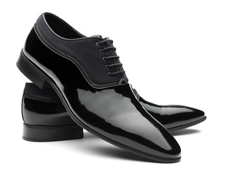 Patent Leather Shoes Front View