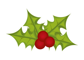 Christmas design. Decoration icon. Flat and isolated illustratio