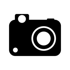 camera , Vector illustration over white background