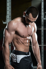 Portrait Of A Physically Fit Muscular Young Man