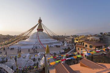 Boudhanath stupa , Kathmandu Nepal
