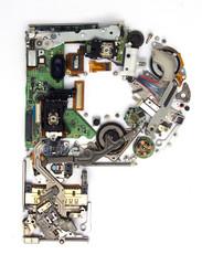 electronic P