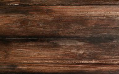 Rustic dark wood