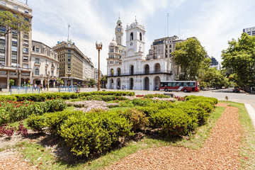City square of Buenos Aires