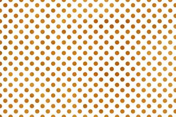 Golden polka dot background.