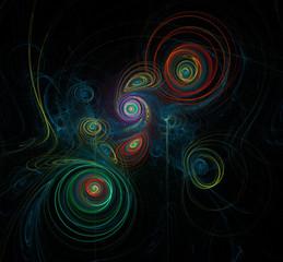 Fantasy fractal desktop wallpaper