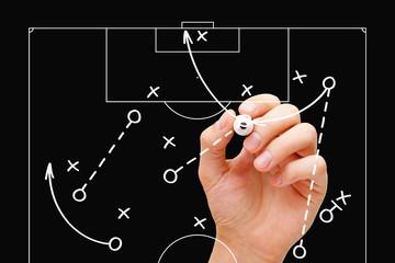 Football Coach Game Tactics