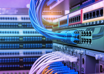 servers and hardwares in an internet data center