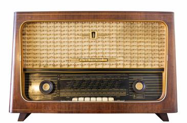 Altes DDR Radio Rundfunkempfänger Old Radio Röhrenradio Radioskala Dampfradio
