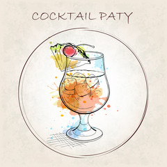Cocktail Party booklet