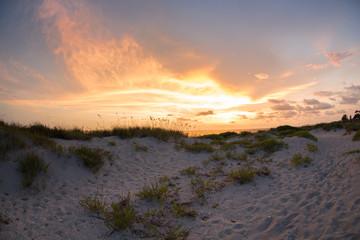 Florida coast sunset