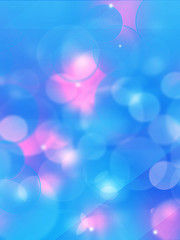Blurry soft background with bokeh effect