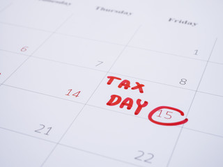 Handwriting tax day 1