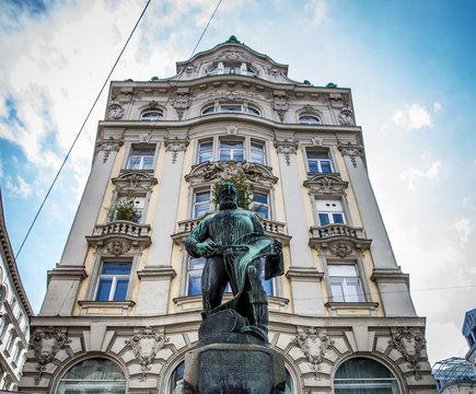 Tuchmacherbrunnen in Wien