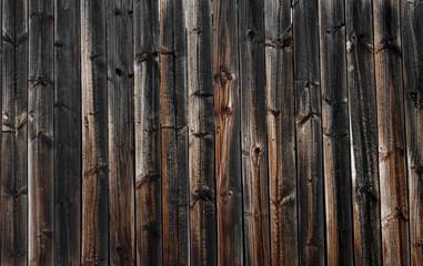 Dark Brown Vintage Wood Planks Background