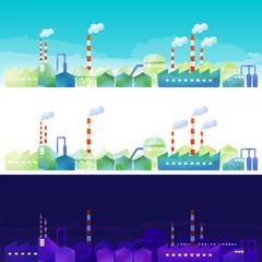 工業地帯の風景