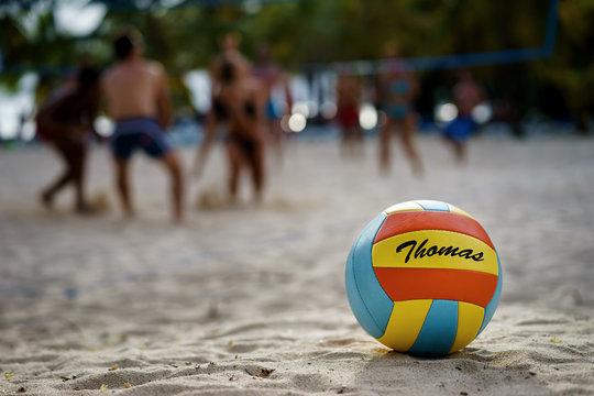 Beachvolleyball - Thomas