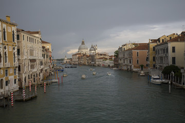 Venice, View from Puente de la academia