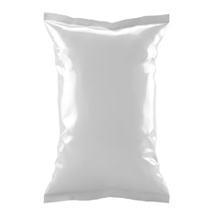 Food bag on neutral background
