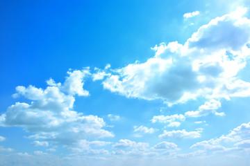 青空と白雲
