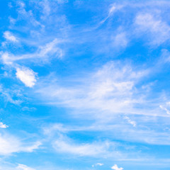 Nature view background with white cloud blue sky background