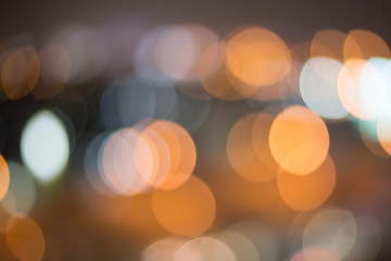 Artistic style - abstract texture bokeh city lights