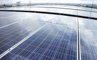 Rooftop Solar PV Cloud Reflect