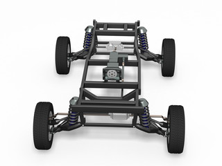 front view car chassis