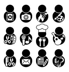 occupations icon symbol
