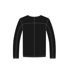 jacket sports in vector on white background