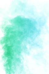 Emerald green water vapor