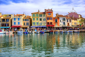 Port of Cassis old town, Provence, France