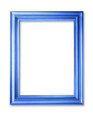 bluer frame on white