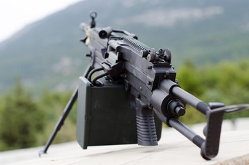 m249 minimi light machine gun airsoft