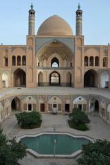 Agha Bozorg three-floured mosque, Kashan, Iran