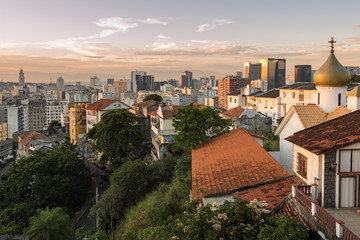Rio de Janeiro City View from Santa Teresa Hills