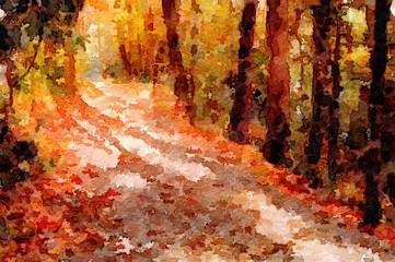 Beautiful Country Path