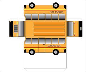 Simple School bus outline
