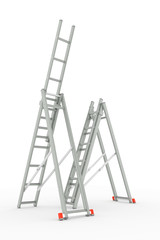 ladders isolated