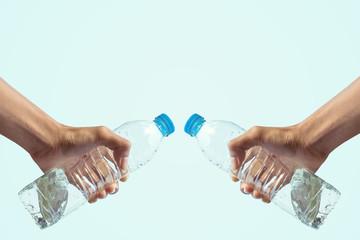 Handle water bottle