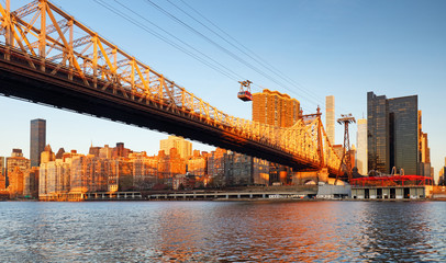 New York City, Queensboro Bridge, USA
