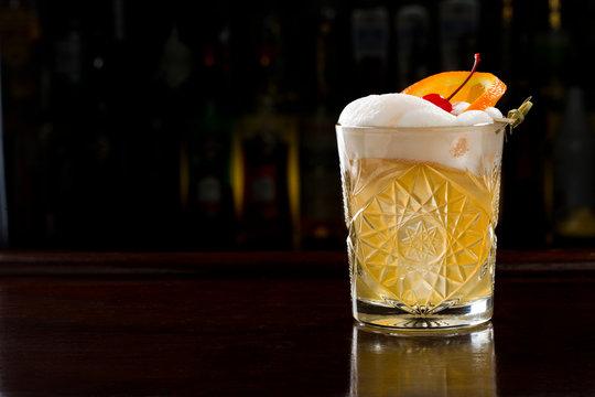 Continental Sour Cocktail