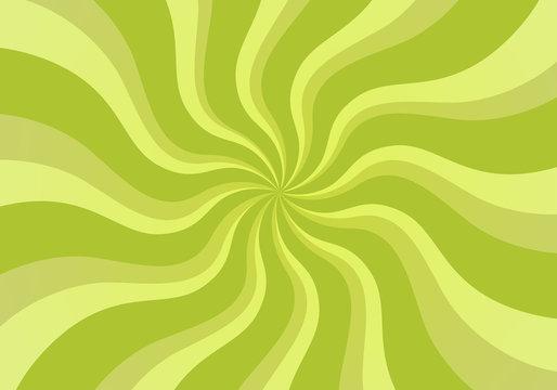 Flat Green Whirl