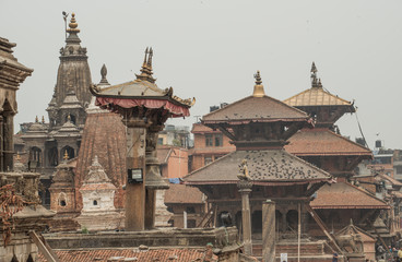 Bhaktapur or Bhadgaon the city of Devotees after the big earthquake from last year (April 2015)