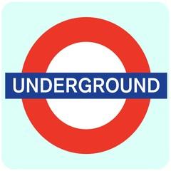 Sign Underground