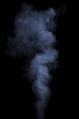 Blue water vapor