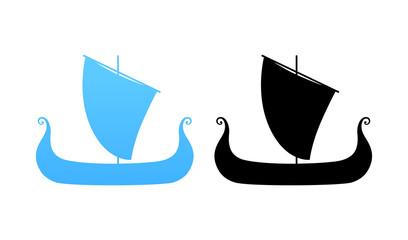 Boat of Vikings