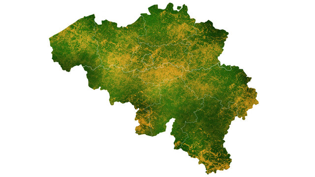Belgium tropical texture map